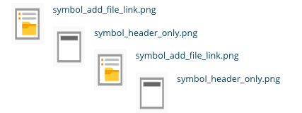 TYPO3 File Links Frontend File name and thumbnail