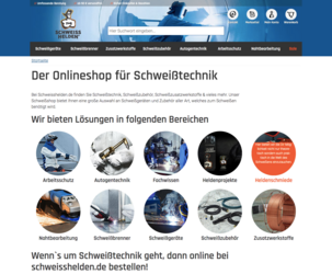 Linde Gas Schweisshelden Shop Screenshot