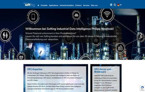 Softing Industrial Data Intelligence Reference