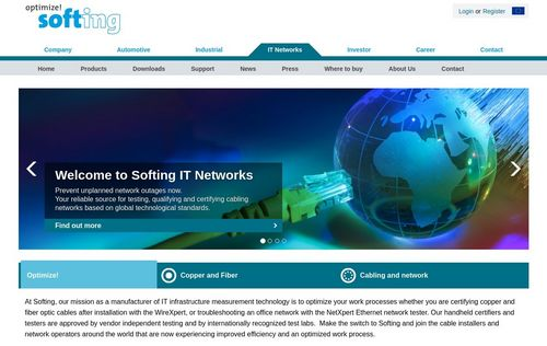 Softing IT Networks GmbH Reference Preview