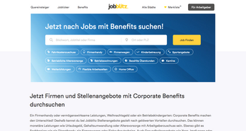 Jobblitz Website Screenshot
