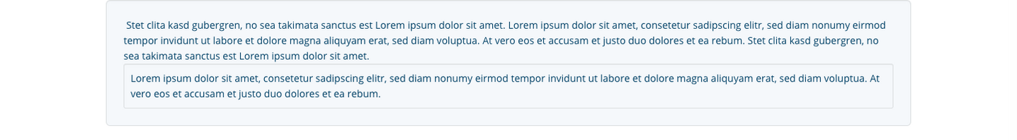 TYPO3 Rich Text Editor Block Style Area Frontend