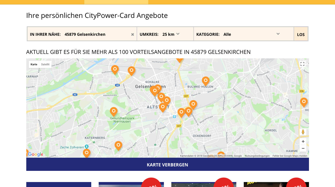 CityPower Website Screenshot 3