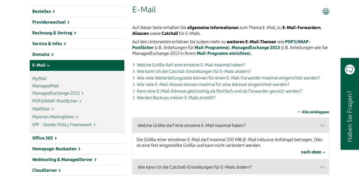 DomainFactory Website Screenshot