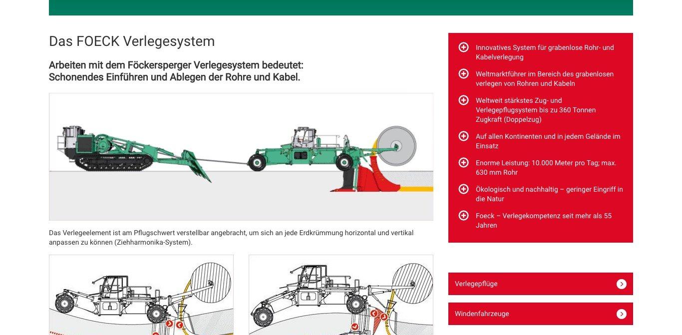 Foeck Website Screenshot