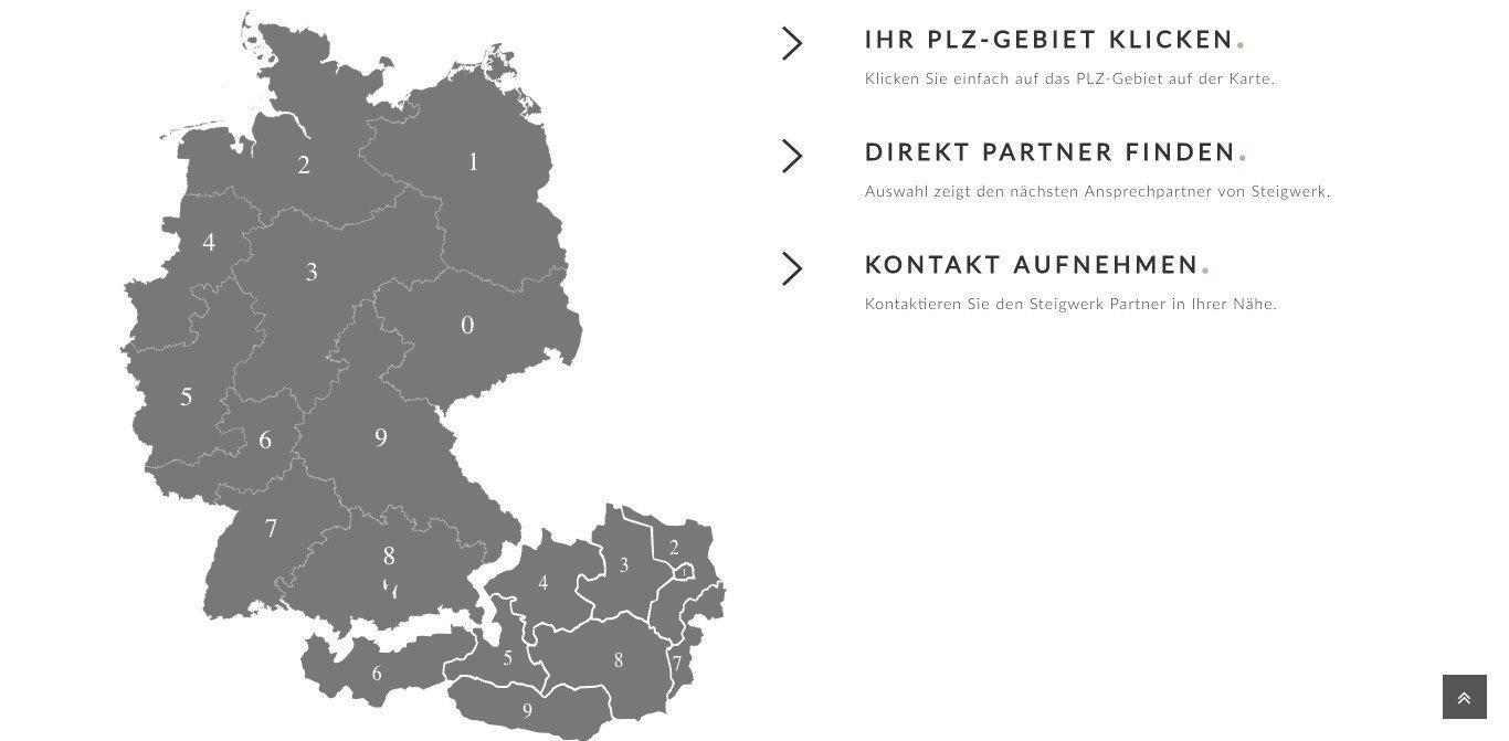 Steigwerk Website Screenshot