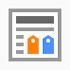 TYPO3 Inhaltselement Kategorisierter Inhalt Symbol