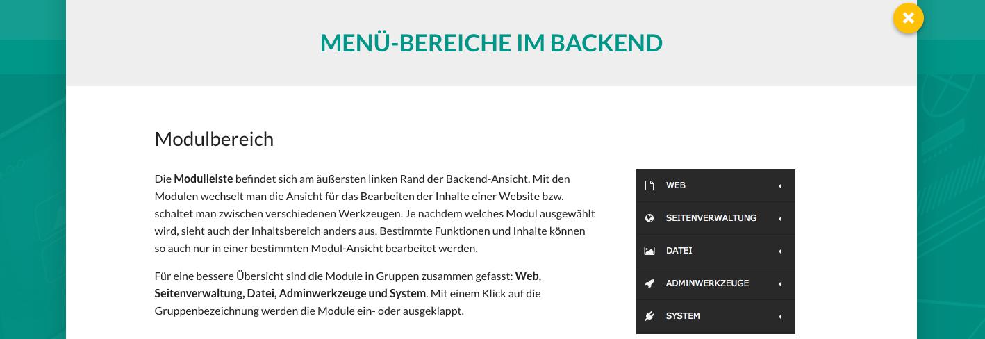 TYPO3 Website-Base Dokumentation Allgemein