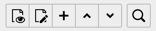 TYPO3 Seiteneigenschaften Optionen über dem Inhaltsbereich