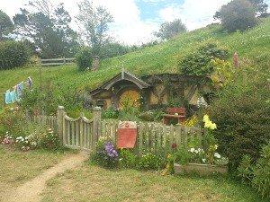 Hobbit-Höhle
